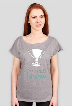 I'm not a player, I'm a winner - geek - koszulka damska
