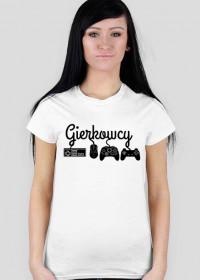 Biała Fanowska Gierkowcowa Koszulka (Damska #1)