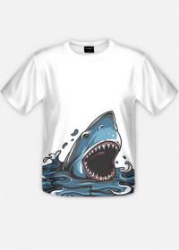 Rekin koszulka fullprint