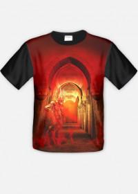 Koszulka mroczna diabeł fullprint