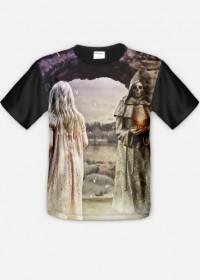 Koszulka gothic fantasy fullprint