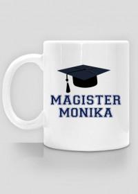 Kubek Magister z imieniem Monika