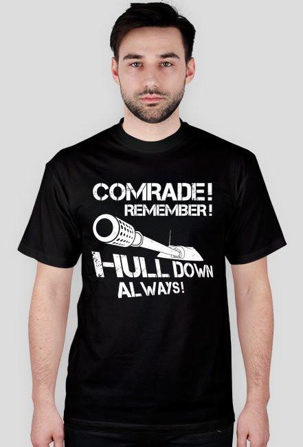 COMRADE! HULL DOWN KOSZULKA MĘSKA