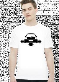 VW Polo Low Wide (t-shirt) ciemna grafika