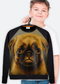 "Bluza ""Mops""/Blouse ""Pug-Dog"""