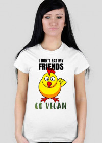 CHICKEN Friend - women t-shirt