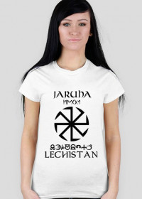 Koszulka Lechistan damska biała