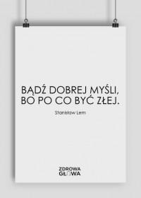 DOBRA MYŚL - plakat