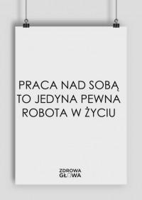 PRACA - plakat