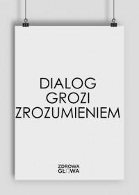 DIALOG - plakat