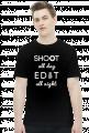SHOOT ALL DAY - koszulka fotograficzna Camwear