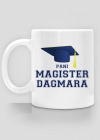 Kubek Pani Magister z imieniem Dagmara