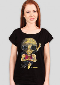 T-shirt damski Alien - Joga