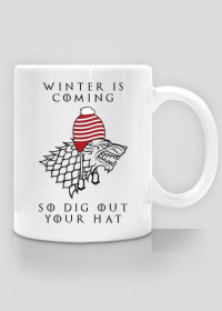 Winter Is Coming, so Dig Out Your Hat – kubek