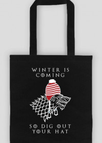 Winter Is Coming, so Dig Out Your Hat – eko torba