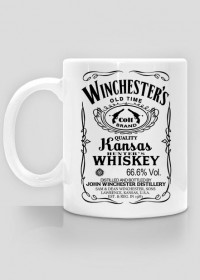 Winchester's Whiskey – Supernatural – kubek