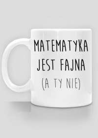 Kubek - FAJNA MATEMATYKA
