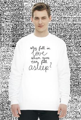 Bluza biała - FALL ASLEEP
