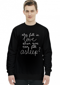 Bluza czarna - FALL ASLEEP