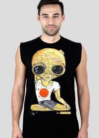 koszulka męska bez rękawów Alien Joga