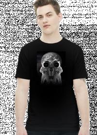 Koszulka kosmos czaszka