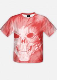 Koszulka czaszka fullprint