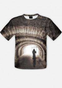 Koszulka ze śmiercią w tunelu full print 2