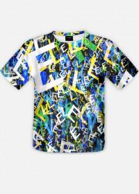 """Boom Koszulka Full Print """"Litter"""""""