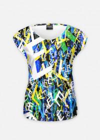 "Boom Koszulka Full Print ""Litter"" Damska"