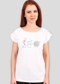 SEO - geek - koszulka damska