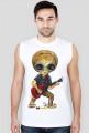 Koszulka bez rękawów męska Alien - Gitara