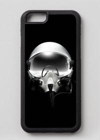 Iphone 6/6s case - hełm pilota, czarny