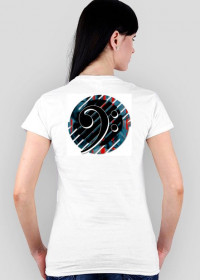Klucz basowy B5 Koszulka damska