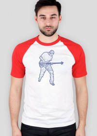 Bass player B T-shirt Baseball
