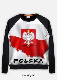 bluza z nadrukiem polska
