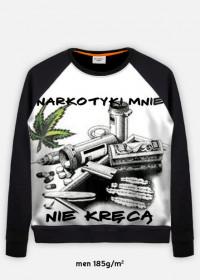 bluza z nadrukiem Narkotyk