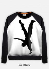 bluza z nadrukiem dance 2