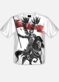koszulka z nadrukiem Husaria full