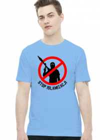 koszulka z nadrukiem Islam will dead