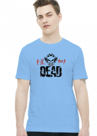 koszulka z nadrukiem Polish DEAD