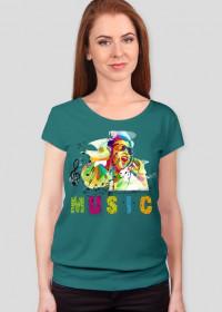 koszulka z nadrukiem Bluza Music II