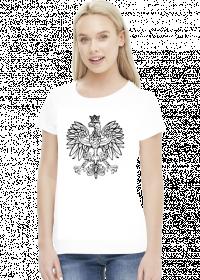 Damska koszulka z orzełkiem