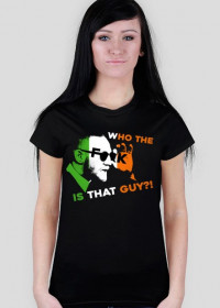 Conor McGregor Who The Fook Is That Guy UFC 205 T-Shirt Black Women