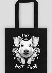 FRIEND NOT FOOD - vegan bag