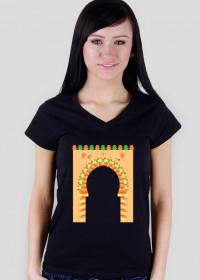 Brama do medyny. T-Shirt damski