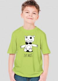 """Koszulka dziecięca """"Zły miś"""""""