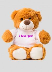 """Misiek """"I LOVE YOU"""""""
