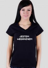 """Koszulka """"jestem weganinem"""""""