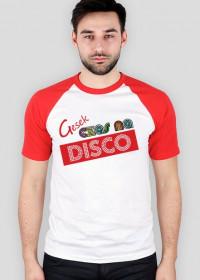 Gesek - Czas na disco, Męski, Czerwony