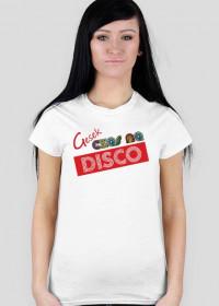 Koszulka - Czas na disco - Kobieta - Kolor